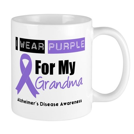 I Wear Purple (Grandma) Mug