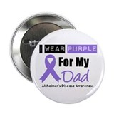 "I Wear Purple (Dad) 2.25"" Button"