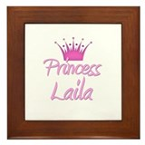 Princess Laila Framed Tile