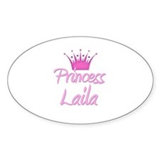 Princess Laila Oval Decal