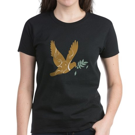 Golden Dove Women's Dark T-Shirt