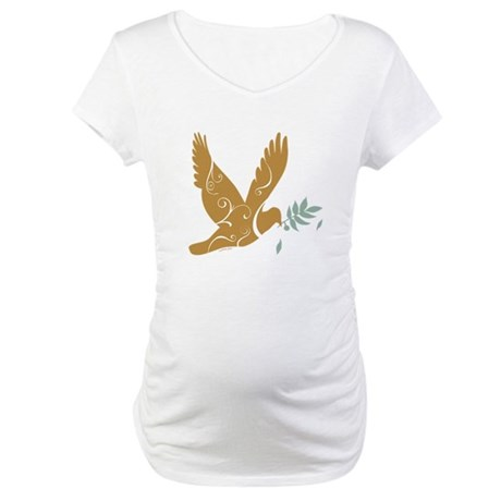 Golden Dove Maternity T-Shirt