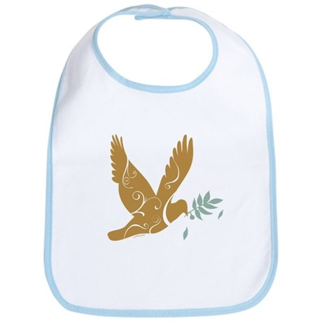 Golden Dove Bib