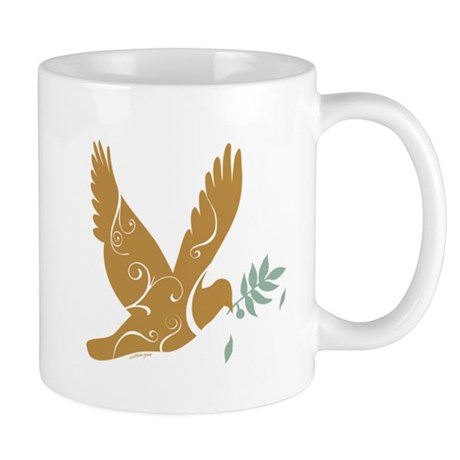 Golden Dove Mug