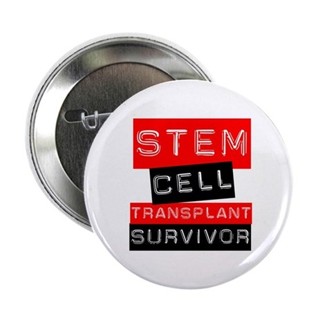 "Stem Cell Transplant Survivor 2.25"" Button (10 pac"