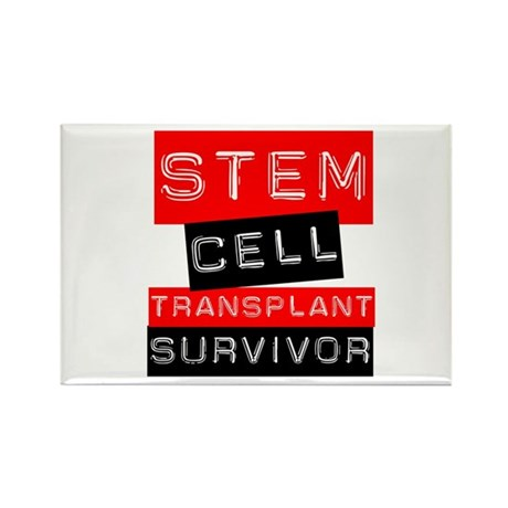 Stem Cell Transplant Survivor Rectangle Magnet (10