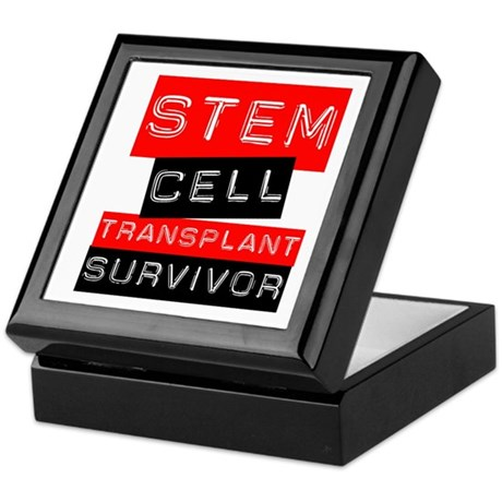 Stem Cell Transplant Survivor Keepsake Box