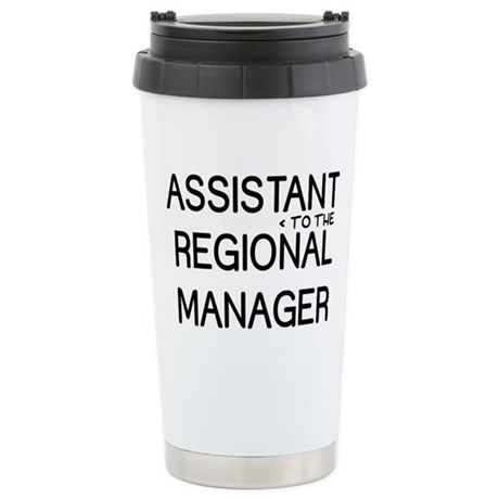 Assistant Manager Ceramic Travel Mug