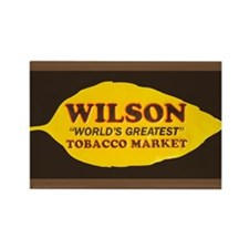 Wilson Tobacco Rectangle Magnet