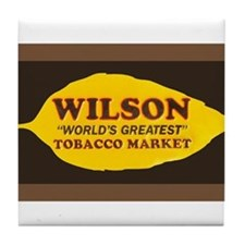Wilson Tobacco Tile Coaster