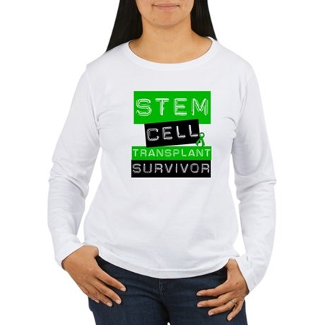 Stem Cell Transplant Survivor Women's Long Sleeve