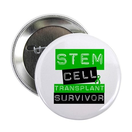 "Stem Cell Transplant Survivor 2.25"" Button"