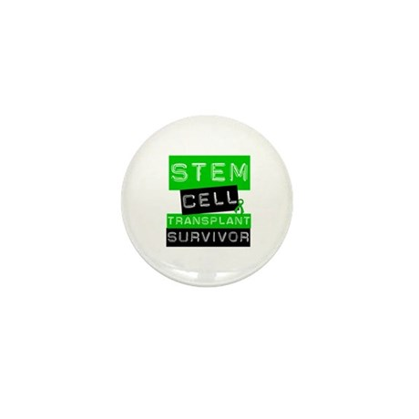 Stem Cell Transplant Survivor Mini Button