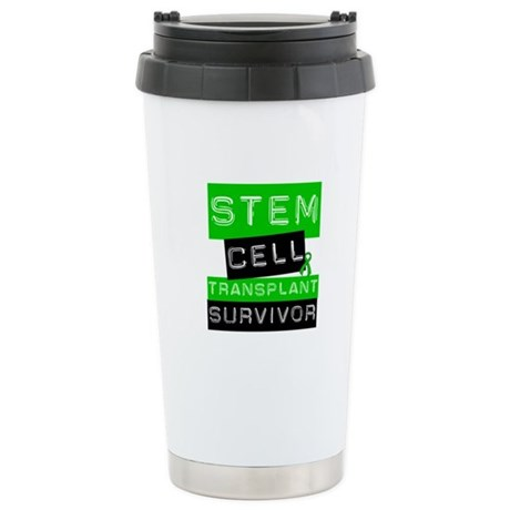 Stem Cell Transplant Survivor Ceramic Travel Mug