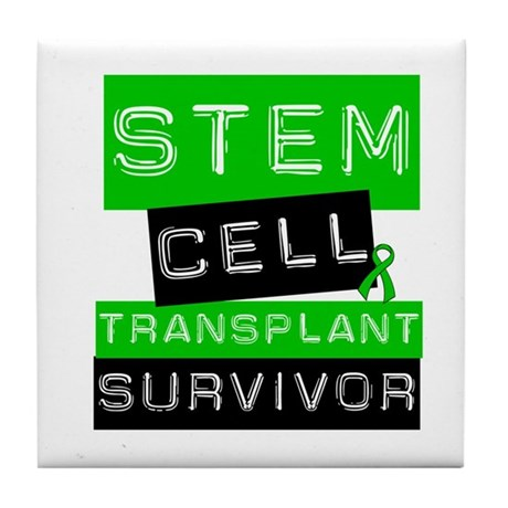 Stem Cell Transplant Survivor Tile Coaster