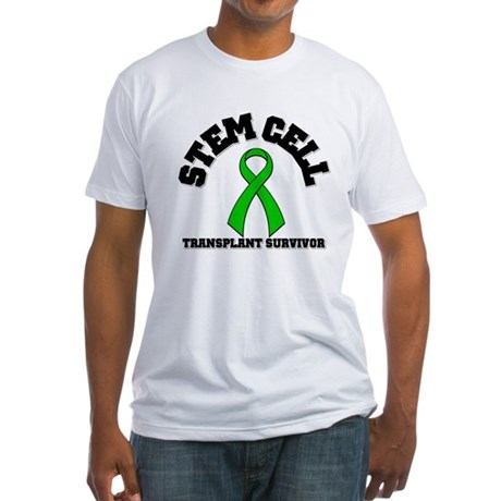 SCT Transplant Survivor Fitted T-Shirt