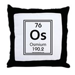 Osmium Throw Pillow