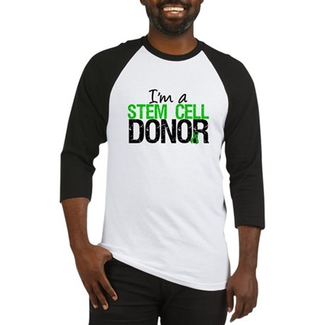 I'm a Stem Cell Donor Baseball Jersey