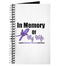 Alzheimer's In Memory Wife Journal