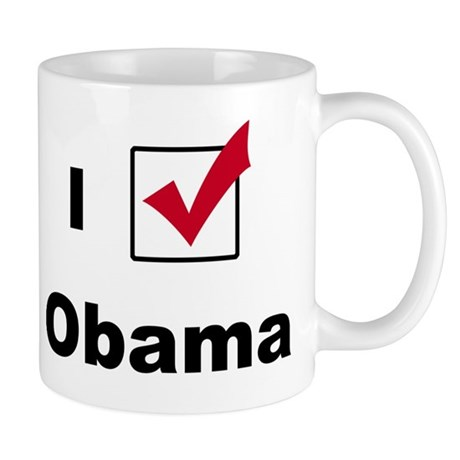 I Voted For Obama Mug