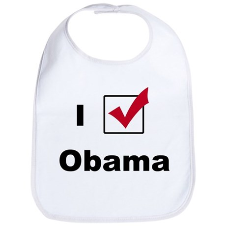 I Voted For Obama Bib