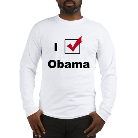 I Voted For Obama Long Sleeve T-Shirt