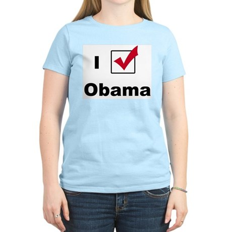 I Voted For Obama Women's Light T-Shirt