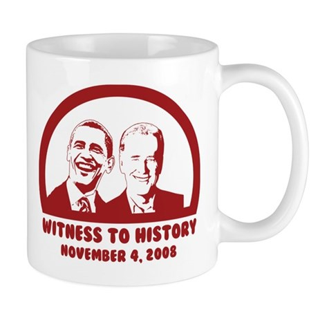 Witness to History Mug