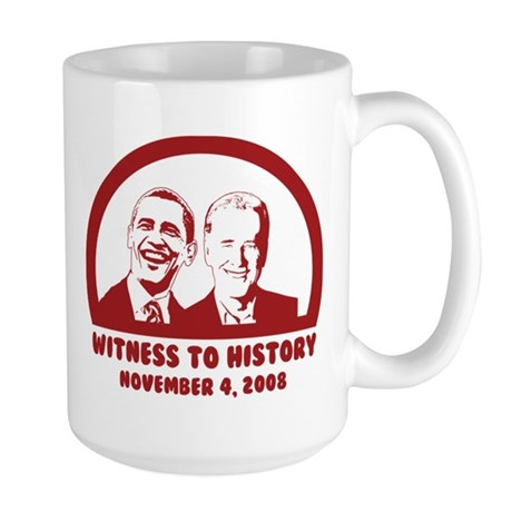 Witness to History Large Mug