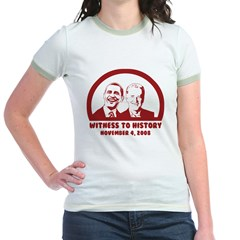 Witness to History Jr. Ringer T-Shirt
