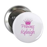 "Princess Kyleigh 2.25"" Button"