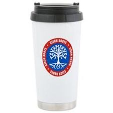 Czech Roots Ceramic Travel Mug