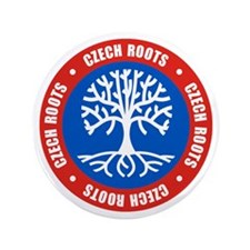 "Czech Roots 3.5"" Button"