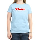 Hola y Adios Women's Pink T-Shirt