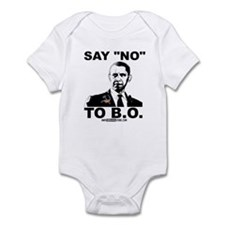 "Say ""No"" to B.O. Infant Bodysuit"