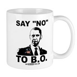 "Say ""No"" to B.O. Mug"