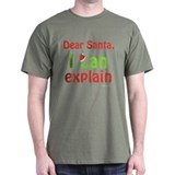 Santa I Can Explain T-Shirt