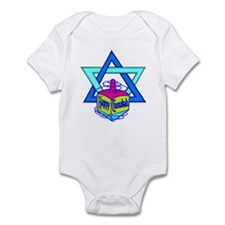 Hanukkah Oh Chanukah Infant Bodysuit