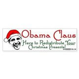 Obama Claus! Bumper Bumper Sticker