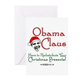 Obama Claus! Greeting Cards (Pk of 10)