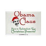 Obama Claus! Rectangle Magnet (100 pack)