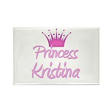 Princess Kristina Rectangle Magnet
