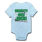 NAUGHTY AND NICE! Infant Bodysuit