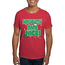NAUGHTY AND NICE! T-Shirt