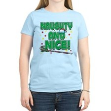 NAUGHTY AND NICE! T-Shirt