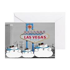 Las Vegas Snowman Cards 10 Image 1