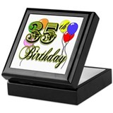 35th Birthday Keepsake Box