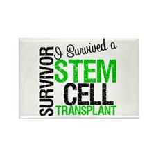 I Survived a Stem Cell Tranplant Rectangle Magnet