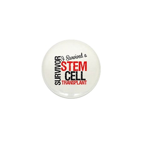 I Survived a Stem Cell Tranplant Mini Button (10 p