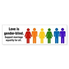 Marriage Equality Bumper Sticker (10 pk)